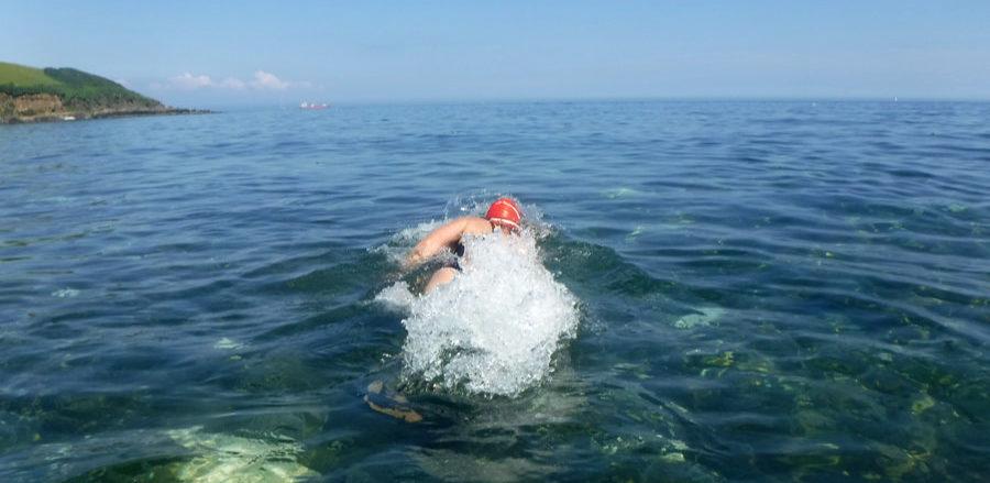Swimming nr Falmouth